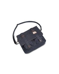 Kansas Messenger Bag Denim